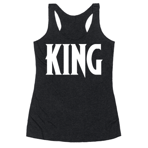 King Parody Racerback Tank Top