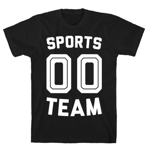 Sports 00 Team (White) T-Shirt