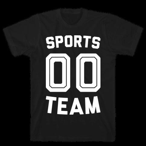 Sports 00 Team (White) Mens T-Shirt