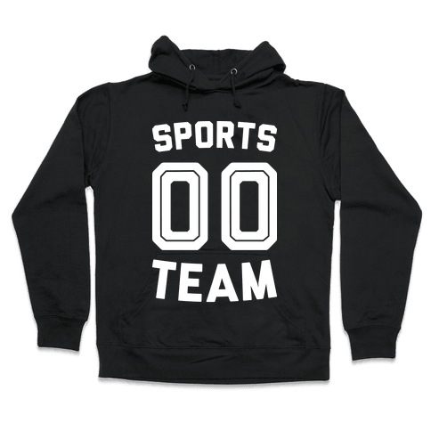 Sports 00 Team (White) Hooded Sweatshirt