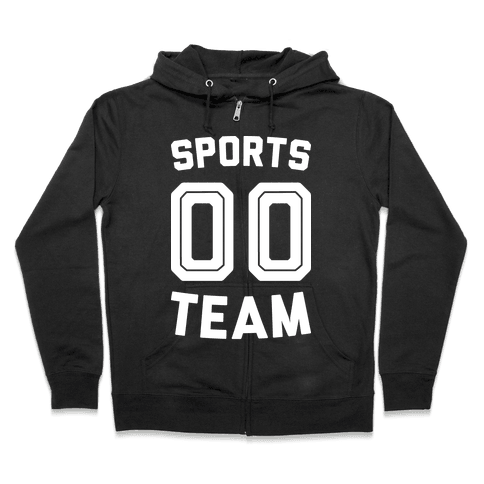 Sports 00 Team (White) Zip Hoodie