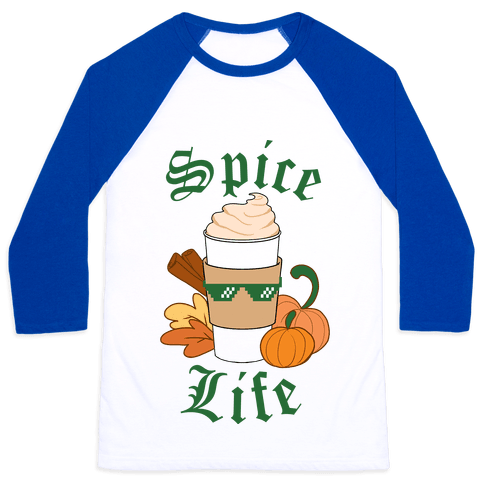 Spice Life Baseball Tee