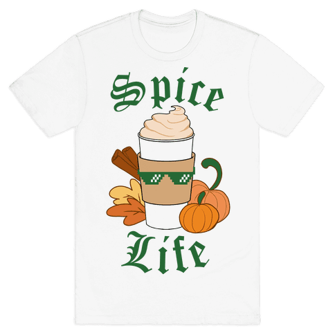 Spice Life Mens T-Shirt