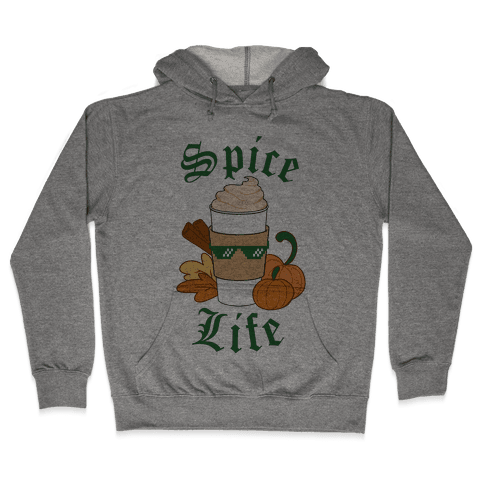 Spice Life Hooded Sweatshirt