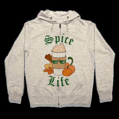 Spice Life Zip Hoodie