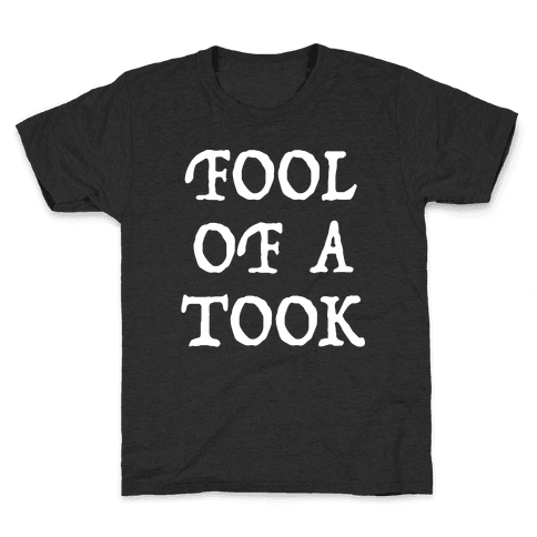 """""""Fool of a Took"""" Gandalf Quote Kids T-Shirt"""