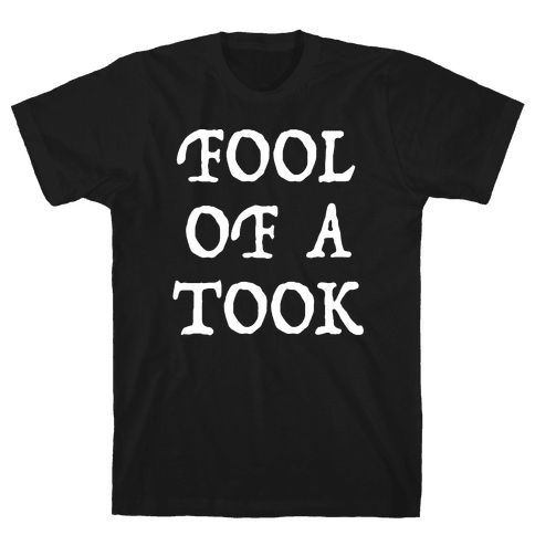 """""""Fool of a Took"""" Gandalf Quote Mens/Unisex T-Shirt"""