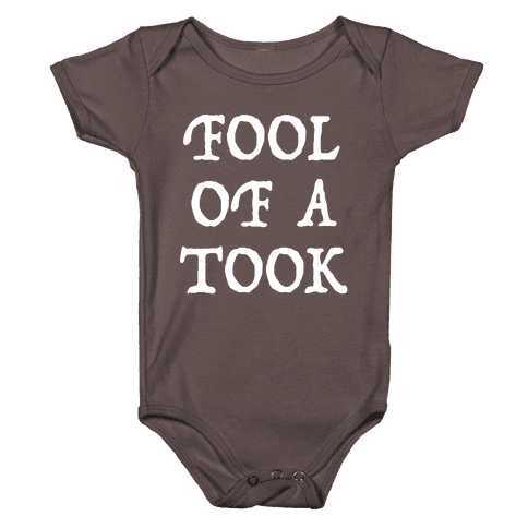 """""""Fool of a Took"""" Gandalf Quote Baby One-Piece"""