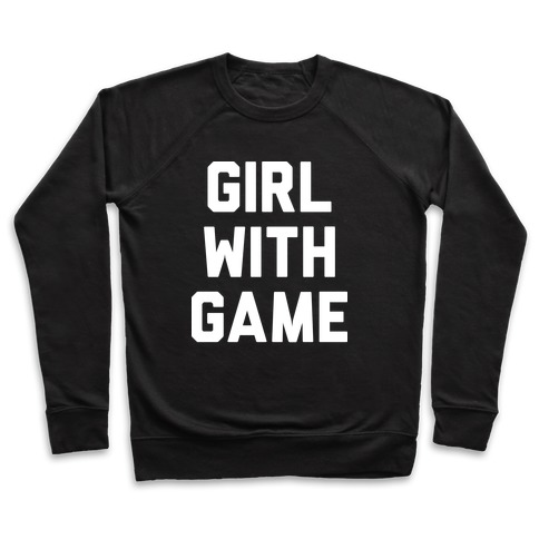 Girl With Game Pullover