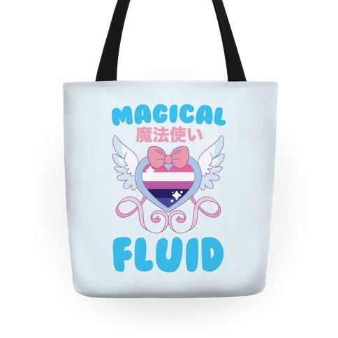 Magical Fluid - Genderfluid Tote