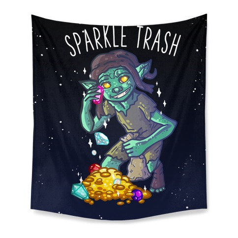Sparkle Trash Goblin Tapestry