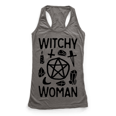 Witchy Woman Racerback Tank Top