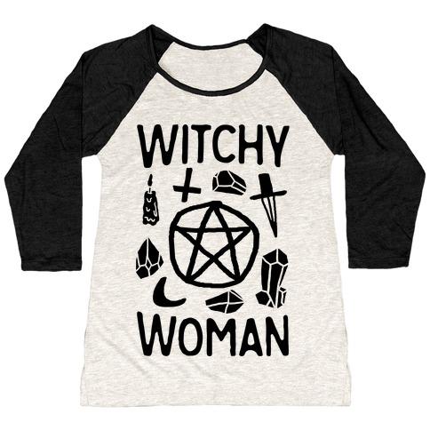 Witchy Woman Baseball Tee