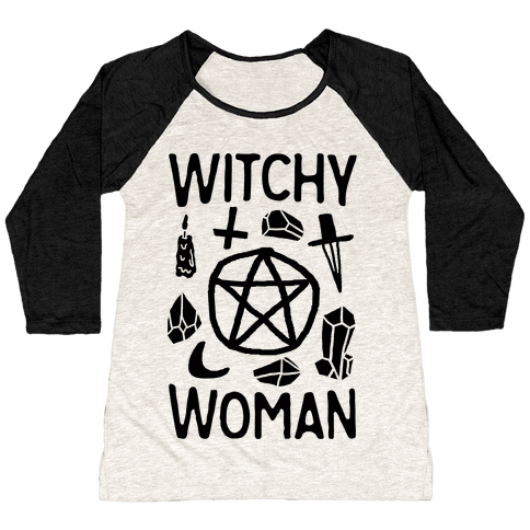 Witchy Woman Baseball Tee