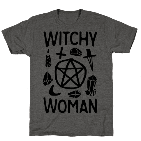 Witchy Woman Mens T-Shirt