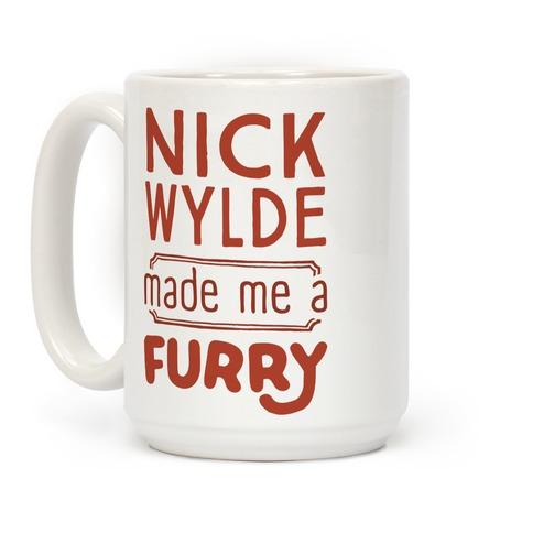 Nick Wylde Made Me A Furry Coffee Mug