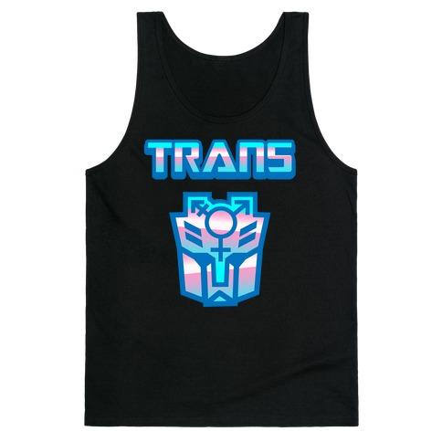 Trans Robot Tank Top