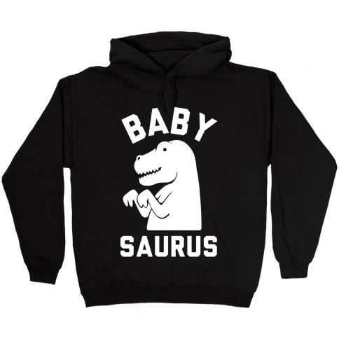 Baby Saurus Boy Hooded Sweatshirt