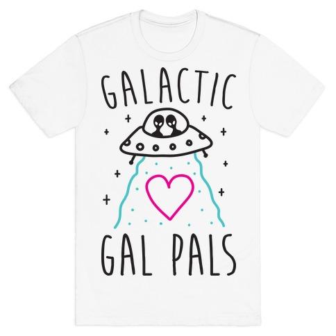 Galactic Gal Pals Aliens T-Shirt