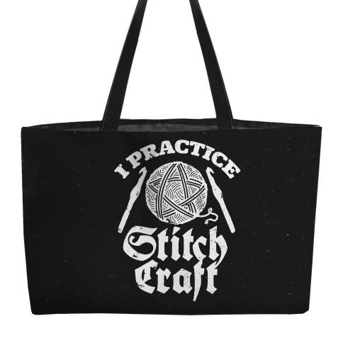 I Practice Stitchcraft Weekender Tote