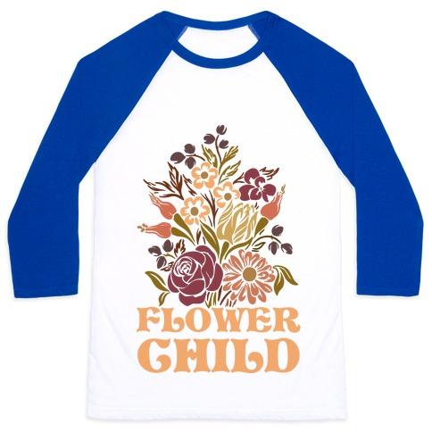 Flower Child Baseball Tee