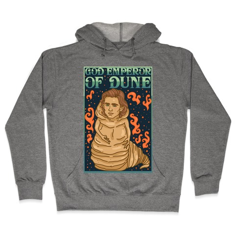 God Emperor Of Dune Timothe Chalamet Hooded Sweatshirt