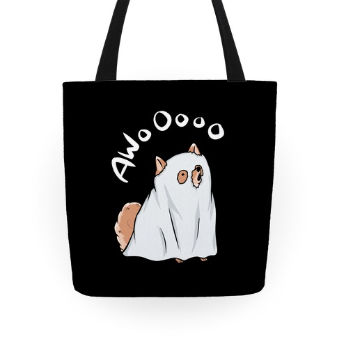 Ghost Dog Tote