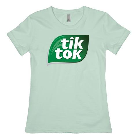 Tiktok Tic Tac Parody Logo T Shirts Lookhuman