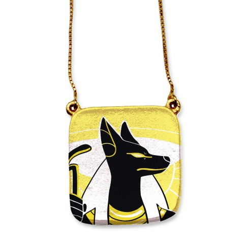 Canine and Divine - Anubis  necklace