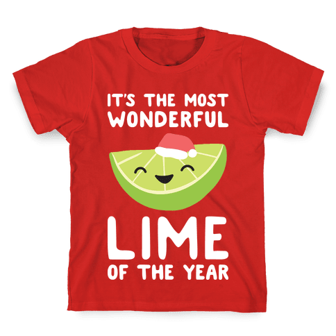 It's The Most Wonderful Lime of the Year Kids T-Shirt