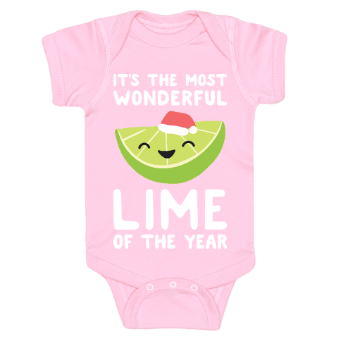 It's The Most Wonderful Lime of the Year Baby Onesy