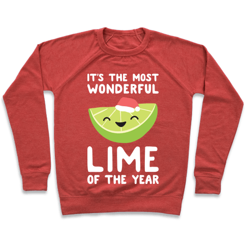 It's The Most Wonderful Lime of the Year Pullover