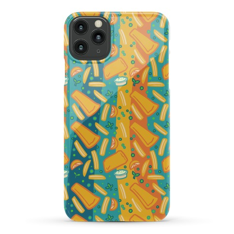 Groovy Fish And Chips Phone Case