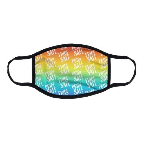 Pride Safe Flat Face Mask