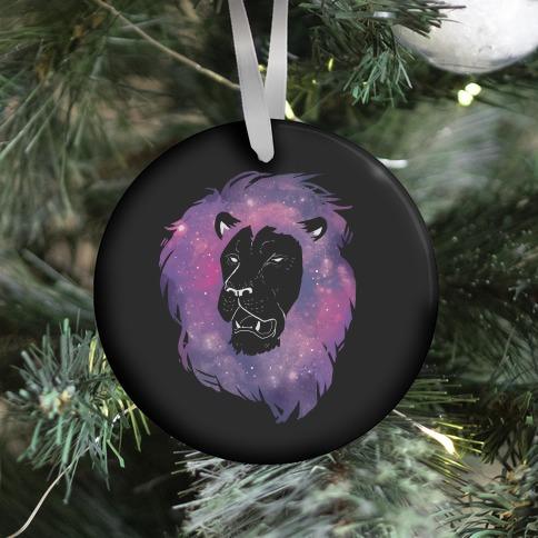 Galaxy Lion Ornament