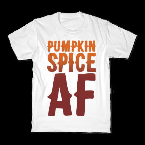 Pumpkin Spice Af Kids T-Shirt