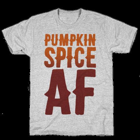 Pumpkin Spice Af Mens T-Shirt