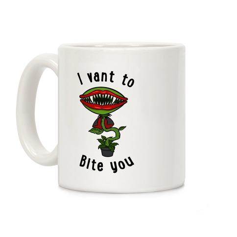 I Vant To Bite You Coffee Mug