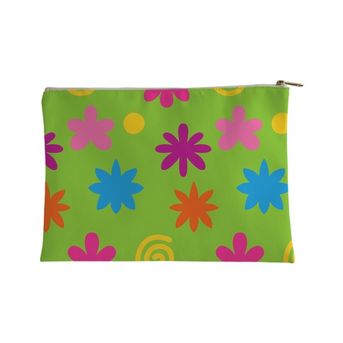 2000's Funky Flower Pattern Accessory Bag