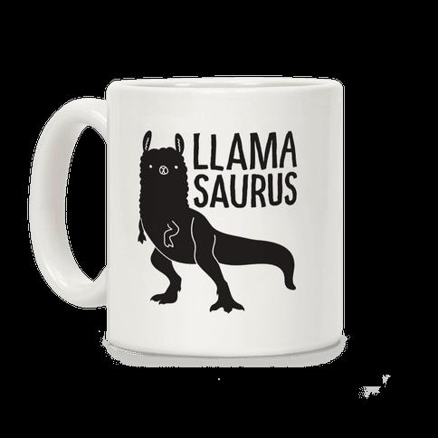 Llamasaurus Coffee Mug
