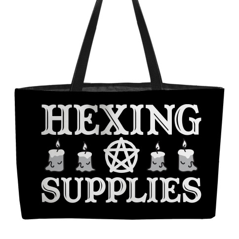 Hexing Supplies weekender