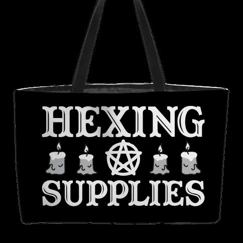 Hexing Supplies Weekender Tote