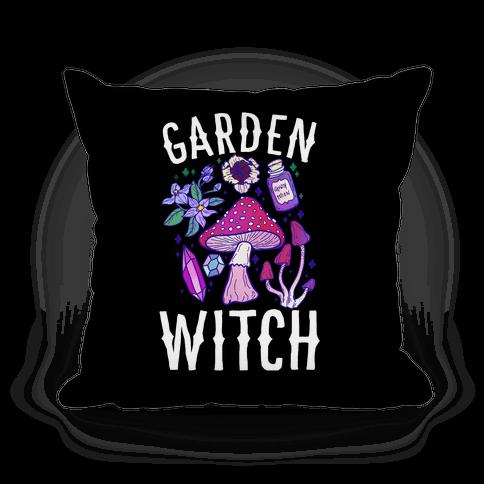 Garden Witch Pillow