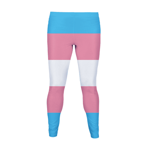 Trans Flag Colors Women's Legging