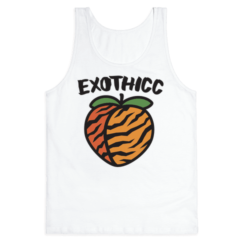 Exothicc Tiger Peach Tank Top
