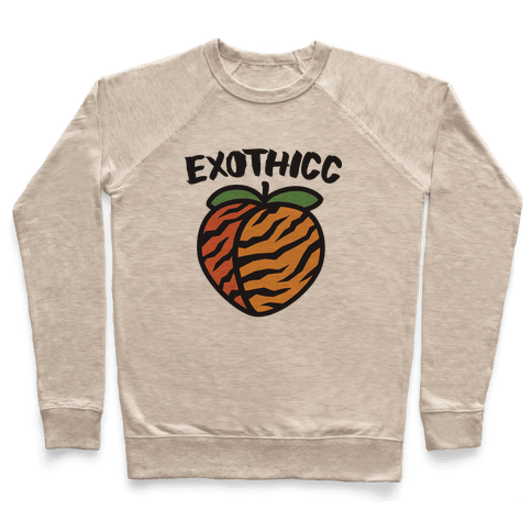 Exothicc Tiger Peach Pullover