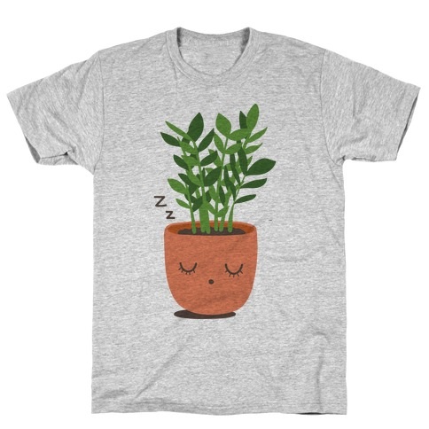 Sleepy ZZ Plant T-Shirt