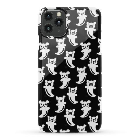 Ghost Animals Pattern Phone Case