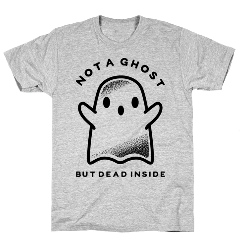 Not A Ghost Mens T-Shirt