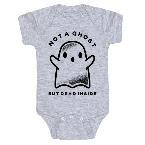 Not A Ghost Baby Onesy